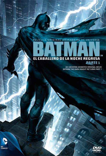 Imagen 1 de 1 de Dvd - Batman: El Caballero De La Noche Regresa Vol. 1