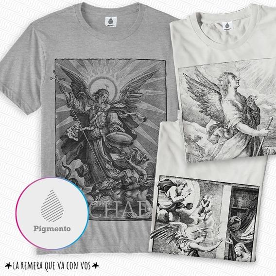 Remeras Sts Arcangeles (arch Michael - Raphael - Gabriel)