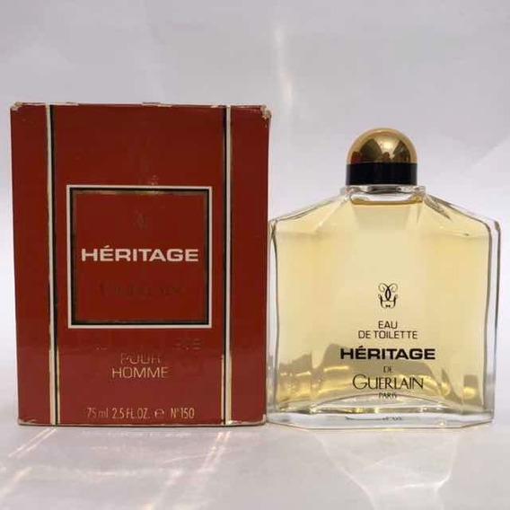 Guerlain Heritage 75 Ml Vintage-1994 Raríssimo Marvinarantes