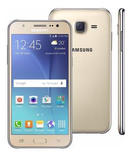 Celular Barato Samsung J5 16gb Duos -vitrine- C/ Detalhes