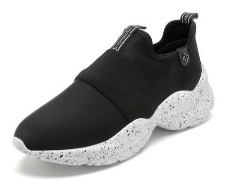Tênis Capodarte Dad Sneaker Chunky Preto