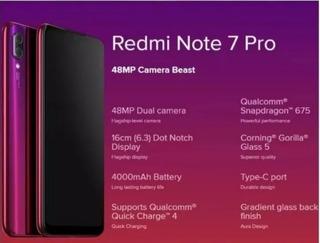 Xiaomi Redmi Note 7 Pro Preço Ótimo E Frete Grátis.