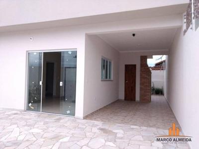 Casa Residencial À Venda, Jardim Bopiranga, Itanhaém. - Ca0153
