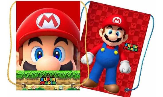 Morralitos Dulceros Mario Bros 10 Pz Por $200