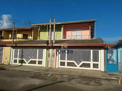 Sobrado Com 4 Dormitórios, Sendo 1 Suíte À Venda - Jardim Estoril - São José Dos Campos/sp - Ca1680