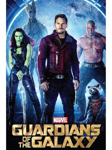 Guardianes De La Galaxia Photocal Imprimible Corpóreo Cartel