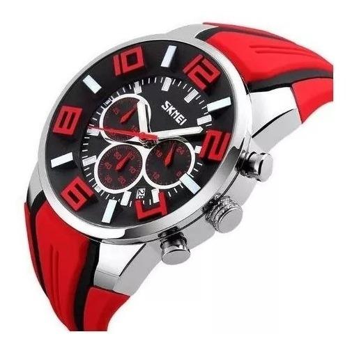 Relógio Masculino Skmei 9128 Original Prova D
