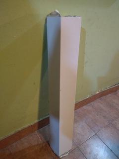 Cubre Caño 100 Cm Campana Cocina Enlozado Blanca