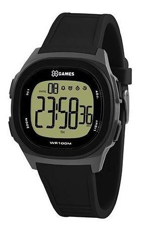 Relógio X-games Xgppd128 Expx Masculino Preto