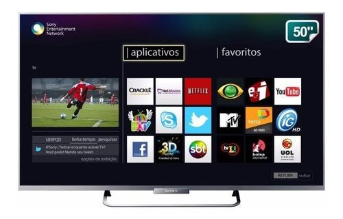 Imagen 1 de 3 de Led Sony Kdl-50w655a Smart Tv Full Hd Wi-fi Como Nuevo!!!