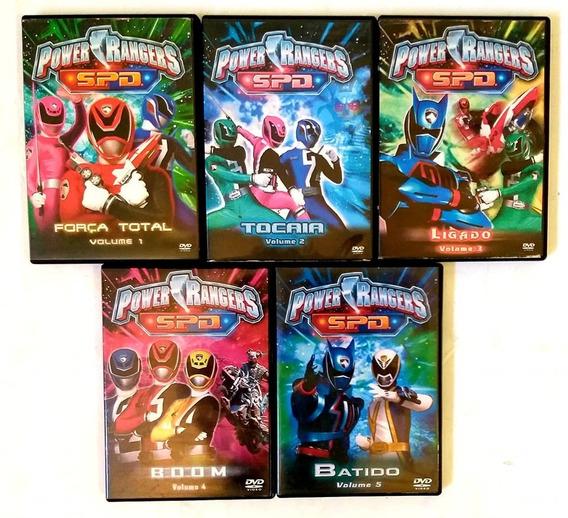 Dvds Power Rangers Força Spd Coleção Completa Dublada