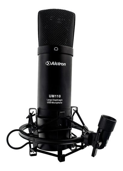 Microfone Usb Condensador Para Estúdio C/ Acessórios . Loja