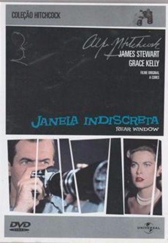Dvd Filme - Alfred Hitchcock - Janela Indiscreta
