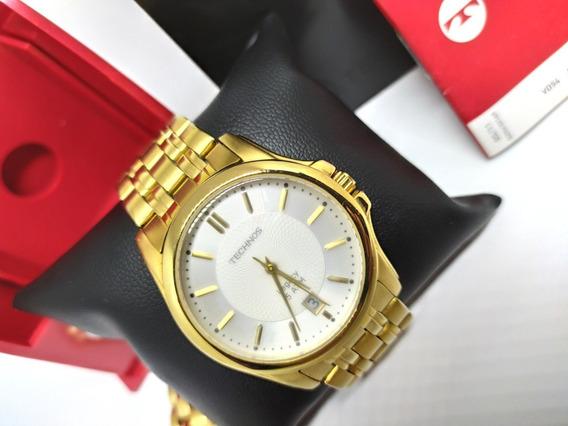 Relógio Technos Masculino Dourado Original Legacy 2315-el