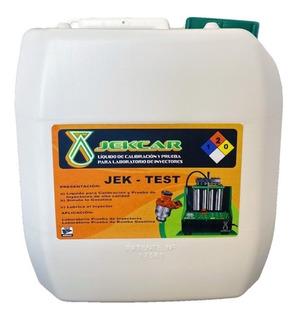 1 Porron 4l Liquido Prueba Laboratorios Limpieza Inyectores