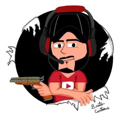 Cartoon Desenhada Para Youtubers