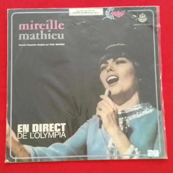 Lp Vinil Mireille Mathieu - En Direct De L