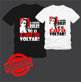 Kit 5 Camisas Lula - Masculino Ou Feminino
