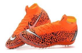 Nike Mercurialx Superfly 6 Elite Kim Jones Society Laranja: