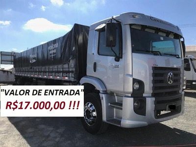 Vw 24250 Constellation Bitruck C/carroceria 2011/2012