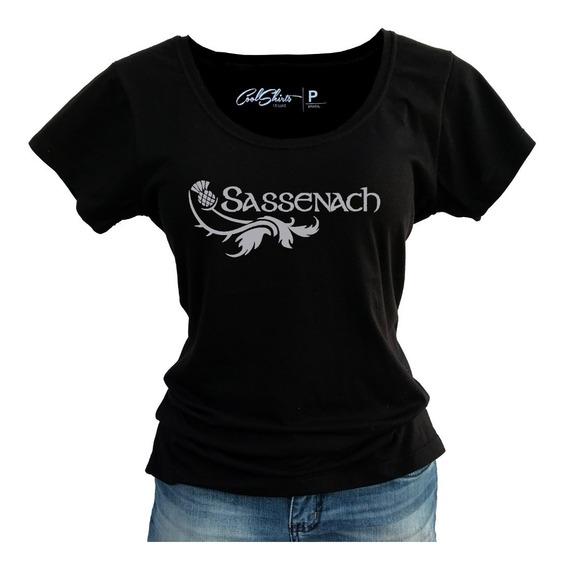 Camiseta Baby Look T-shirt Outlander Sassenach Serie