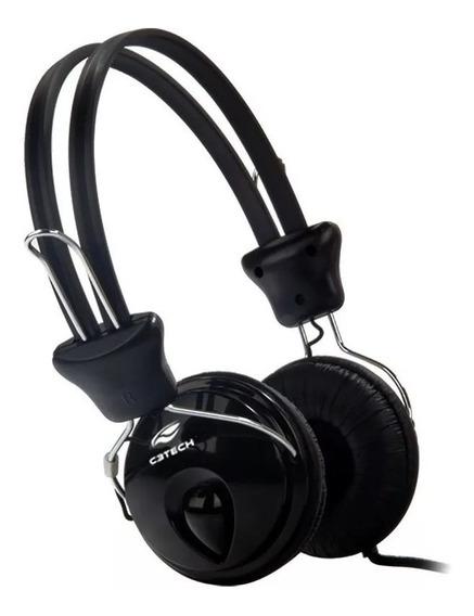 Headset Gamer C3tech Mi-2280erc Tricerix C/microfone Preto