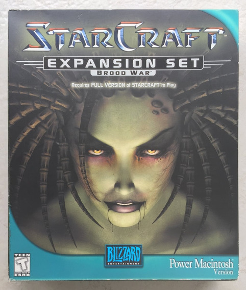 Starcraft Brood War Big Box Power Macintosh ( Blizzard )