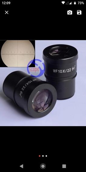 Par De Ocular 10x 22mm, Diâmetro 30mm + 1 Filtro