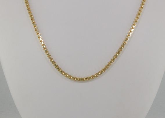 Corrente Veneziana Feminina Maxi 40 Cm Ouro 18k Cordão