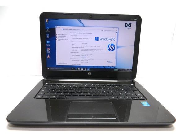 Ultrabook Hp 240 Intel Core I5 Ssd 128gb 6gb Win10 Seminovo