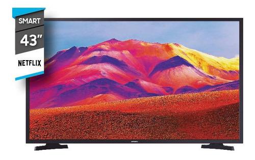 Imagen 1 de 2 de Televisor Smart Tv Samsung 43  Full Hd Un43t5300