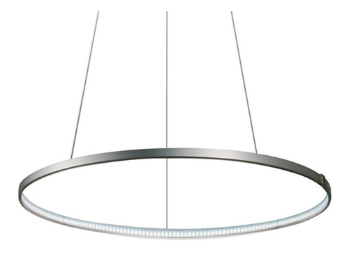 Colgante Aro Circular Led 60cm Luz Calida Buena Luz