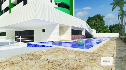 Imagem 1 de 8 de Apartamento À Venda, 3 Quartos, 2 Vagas, Farol - Maceió/al - 697