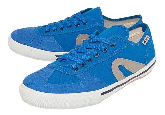 Tênis Rainha Vl 2500 - Azul/cinza