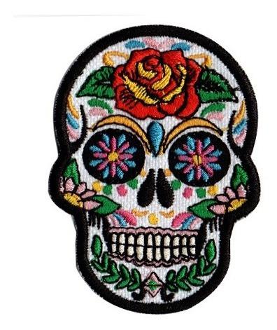 Patch Talysma P/ Jeans Jaqueta Camiseta - Caveira Mexicana