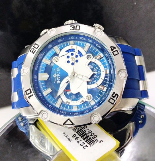 Invicta Pro Diver 22796 Aço Cronógrafo Calendário