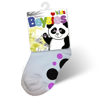 Medias Bebes 1-3 Años Blanca Negras Beybies