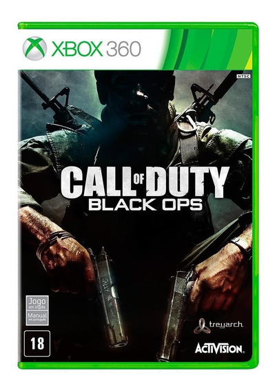 Call Of Duty Black Ops Original P/ Xbox 360 Bloqueado Origin