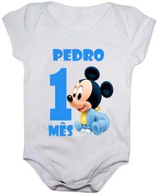 Body Mês Aniversário Looney Tunes Baby Kit Mesversario Meses