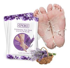 Meia Esfoliante Tipo Foot Peeling Para Os Pés Lisinho 1 Par