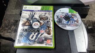 Madden Nfl 13 Completo Para Xbox 360,excelente Titulo