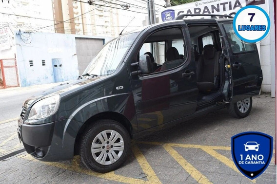 Fiat Doblo 1.8 Essence 2014 7 Lugares + 1 Ano De Garantia