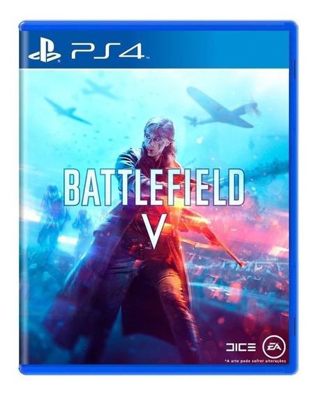 Jogo Battlefield V / 5 / Bf5 Mídia Física - Ps4
