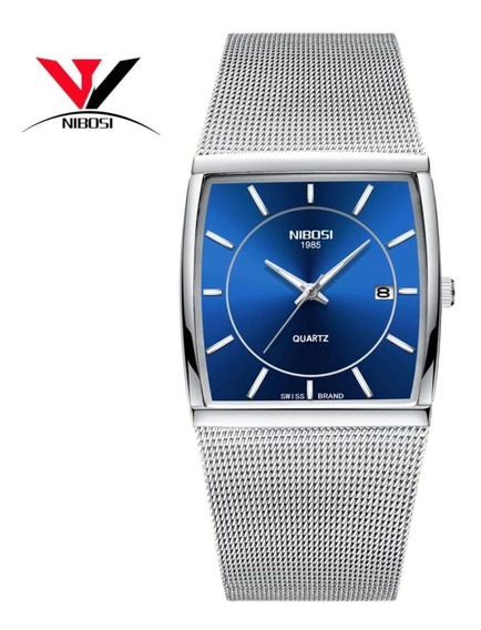 Nibosi Dourado Quartz Relógio Homens Relógios Relógio Mascul