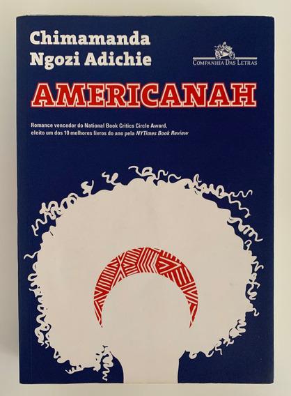 Livro Americanah (2013) Chimamanda Ngozi Adichie