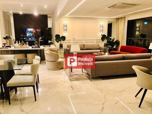Apartamento Com 3 Dormitórios À Venda, 227 M² Por R$ 2.921.460,00 - Chácara Santo Antônio (zona Sul) - São Paulo/sp - Ap28433