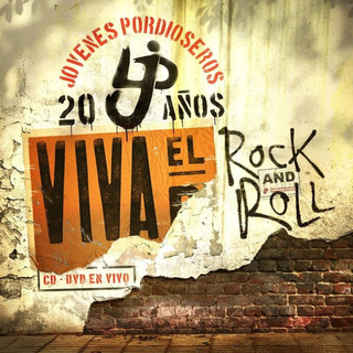 Jovenes Pordioseros Viva El Rock And Roll Cd Dvd Nuevo 2019