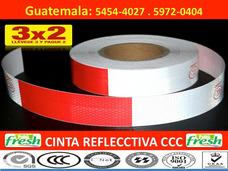 Cinta Reflectiva Franjas Reflectivas Guatemala Reflejantes