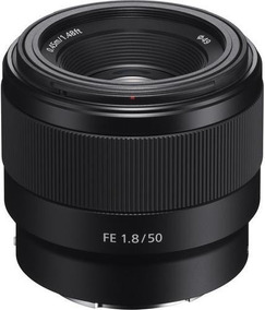 Lente Sony Fe 50mm F1.8, Full Frame E-mount