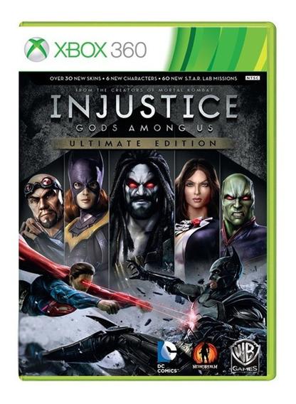 Injustice Gods Among Us Ultimate Edition - Xbox 360 - Usado